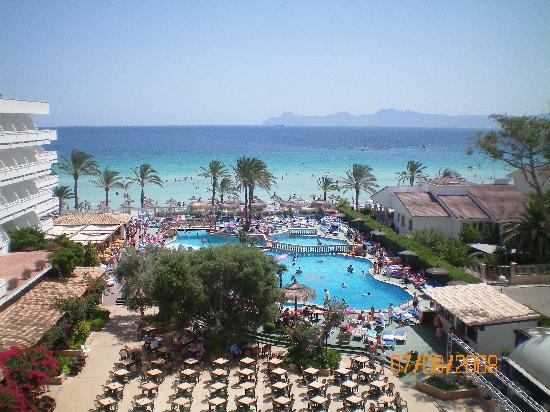 Hotel Condesa de la Bahía: view from balcony
