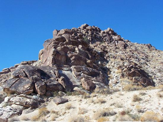 Grapevine Canyon: Rocks