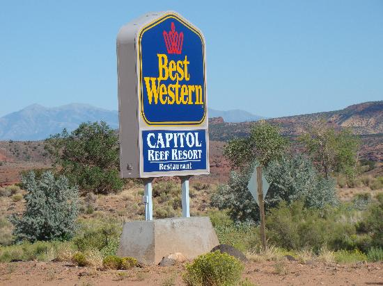 Capitol Reef Resort: Best Western Capitol Reef