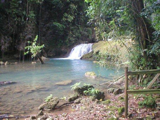 Santa Cruz, Jamaica: falls