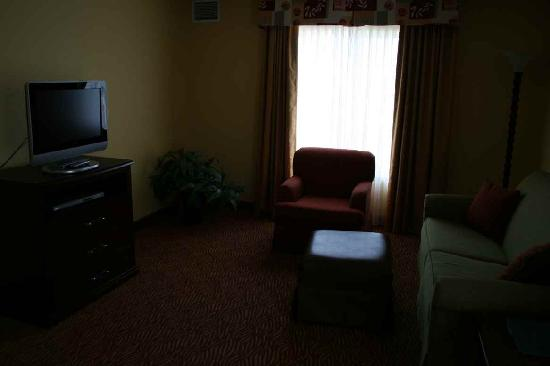 Homewood Suites by Hilton Fort Collins: Living room area