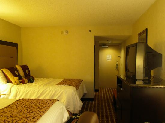 Ramada Gainesville: a view of the room from the window