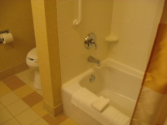 Fairfield Inn & Suites State College: Bathtub - Shower