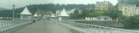 Baytree Lodge: Lower Bangor from the pier