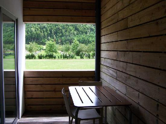 Furnas Lake Villas: Private terrace