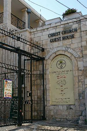 Christ Church Guest House: Entrance Gate to Christ Church - Jaffa Gate