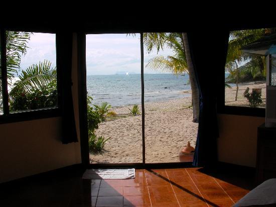 Wiesenthal Resort Bungalows: la vue de la chambre