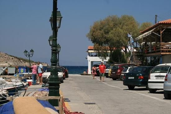 Saronic Gulf Islands, Yunanistan: Perdika, petit port sur l'ile Aegine (golfe Saronique)