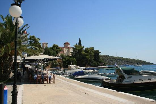 Saronic Gulf Islands, Yunani: Port de Palio Epidaure