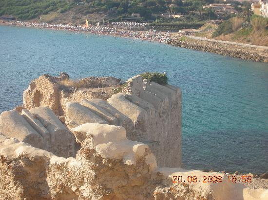 Da Capo Colonna a Le Castella: Vista dal castello di Le Castella