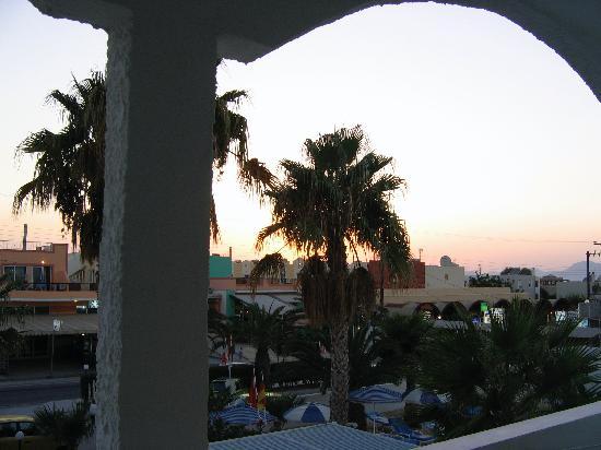 Vista dalla camera del Tropical Sol