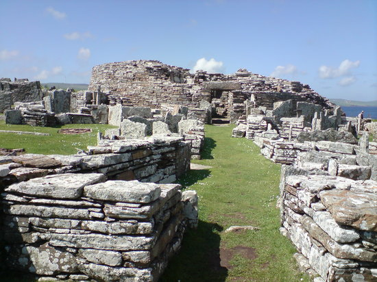 Orkady, UK: Broch of Gurness