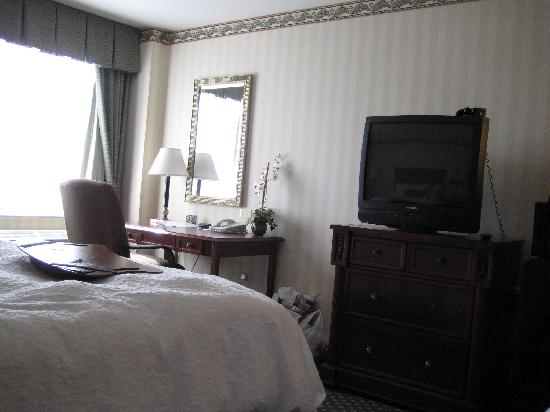 Hampton Inn Littleton: our hotel room