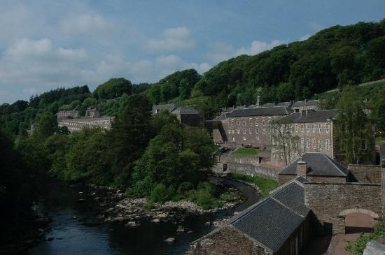 New Lanark World Heritage Village: New Lanark buildings