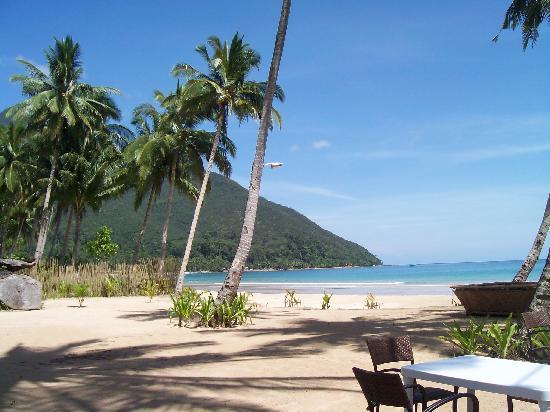 Bambua Nature Cottages: beautiful sabang beach