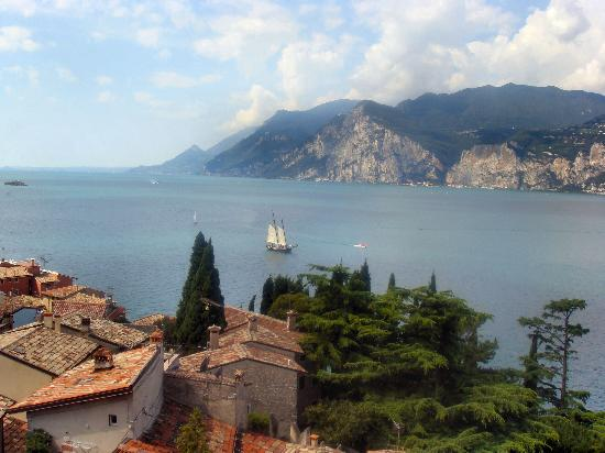 Hotel Europa: View From Malcesine Castle