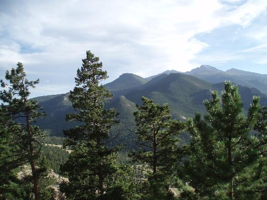 Windcliff Properties: Long's Peak, from Windcliff