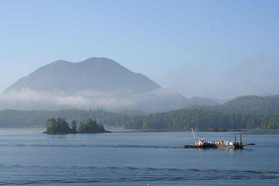 Tofino, Canada : from Ucluelet harbour