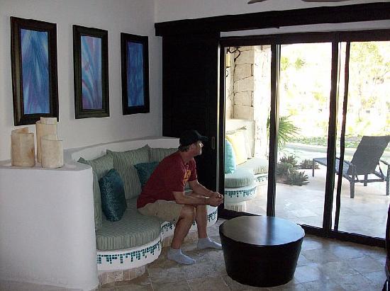Secrets Maroma Beach Riviera Cancun : Swim up room