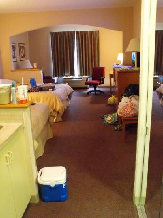 Comfort Suites: when you first walk in
