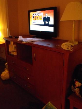 Comfort Suites: big screen tv
