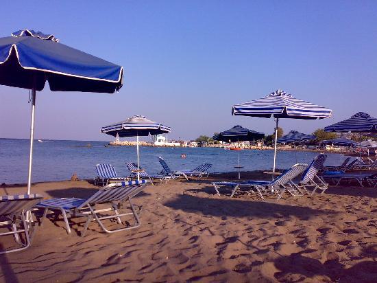 Evi Hotel Rhodes: Spiaggia di Faliraki