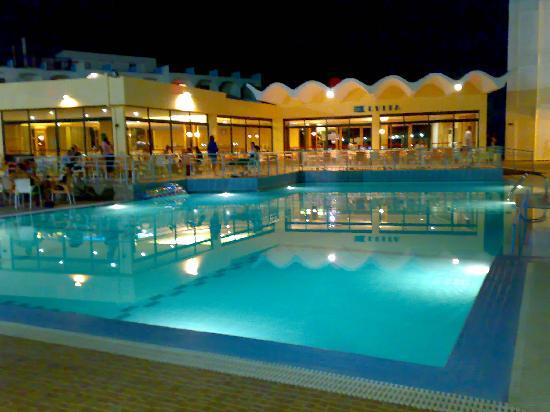 Evi Hotel Rhodes: Piscina hotel evi