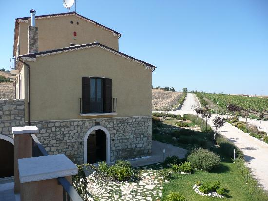 Montecilfone, Italy: The house from the terrace