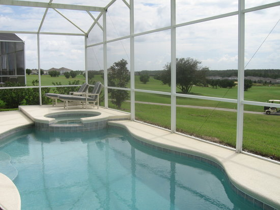 Davenport, FL: View of Highlands Reserve from Mickey's Magic Getaway rental villa