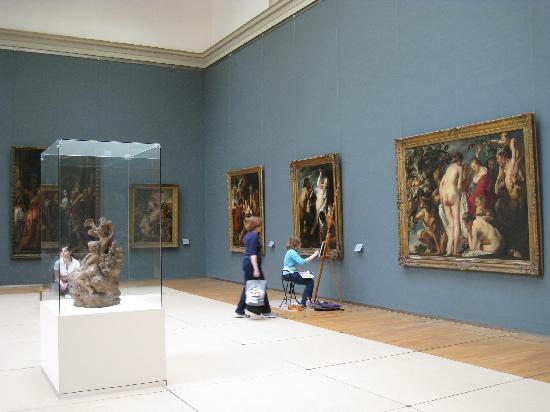 Royal Museums of Fine Arts of Belgium: Inside the Beaux-Arts Museum
