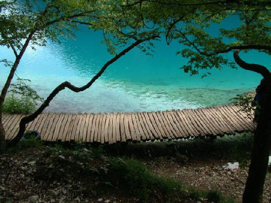 Plitvice Lakes National Park, Hırvatistan: this