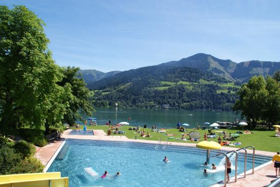 Bruck, Austria: Great local outdoor pool