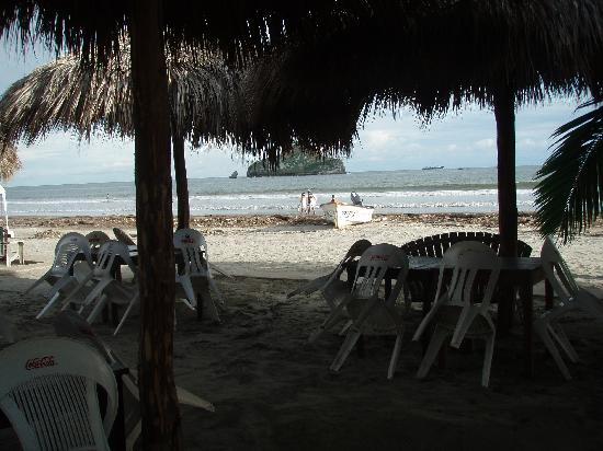 Carmelita's: great food , great service , very clean , the best location to hang out  on the beach