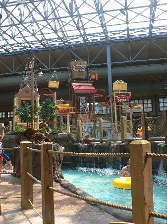 Silver Mountain Resort Lodging: water park