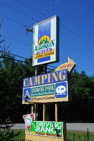 Algonquin Trails Camping Resort: Pamper the camper?