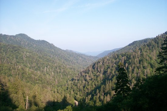 Great Smoky Mountains National Park, TN: Morton Overlook