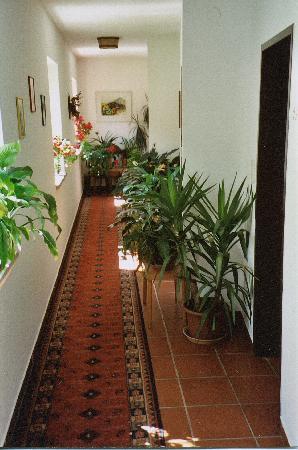 Gasthof Badl: Hallway in Gashof Badl