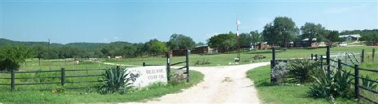 Rancho Cortez: A view from the main gate