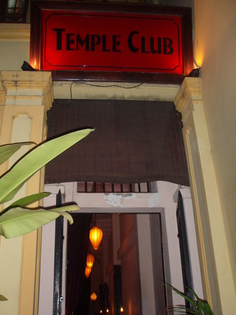Entrance of Temple Club