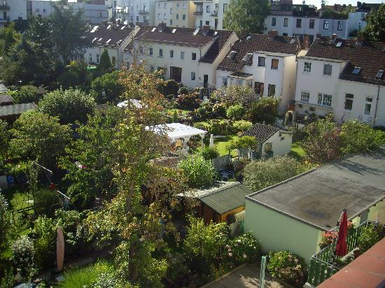 Haus Bremen Garni: The view from the room