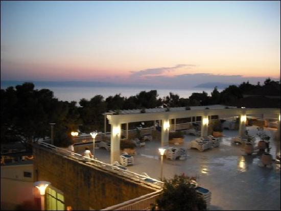 Bluesun Hotel Alga: View from our balcony
