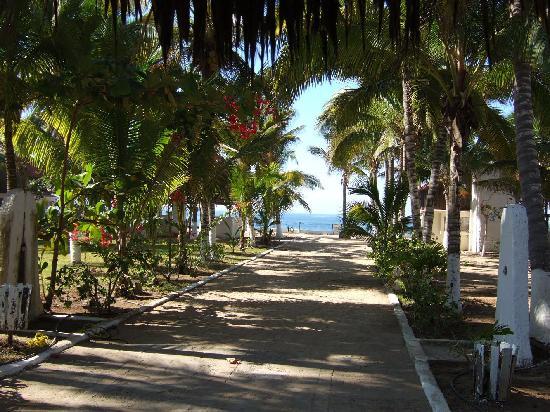 Stillehavskysten, Mexico: Weg zum Strand