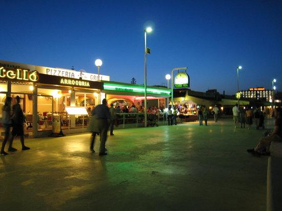 Pizzeria Pepa: L'été le soir la nuit tombée le meilleur moment des vacances