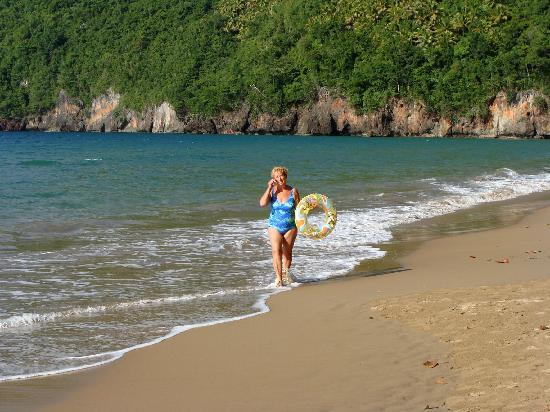 La Tambora Beach Resort: Spiaggia nei pressi di La Tambora