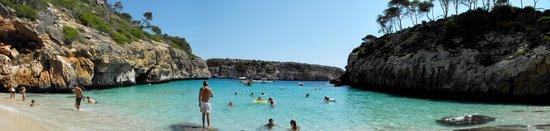 Majorca, Spain: Calo des Moro panorama