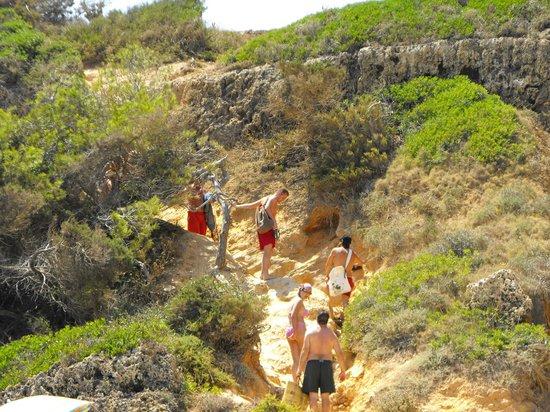 Majorca, Spain: Calo des Moro Access-Accesso
