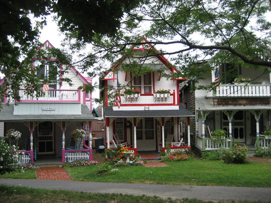Gingerbread houses in Oak Bluffs
