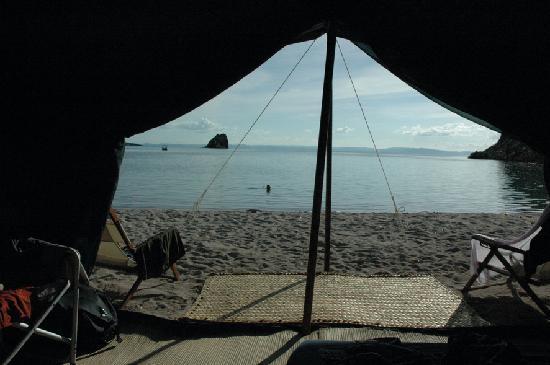 Baja Camp: dalla tenda