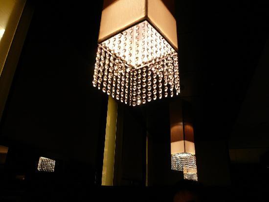 AoBa: Ceiling light / 天井からぶらさがる照明