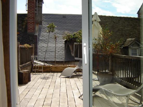 A l'ecole buissonniere : Terrasse